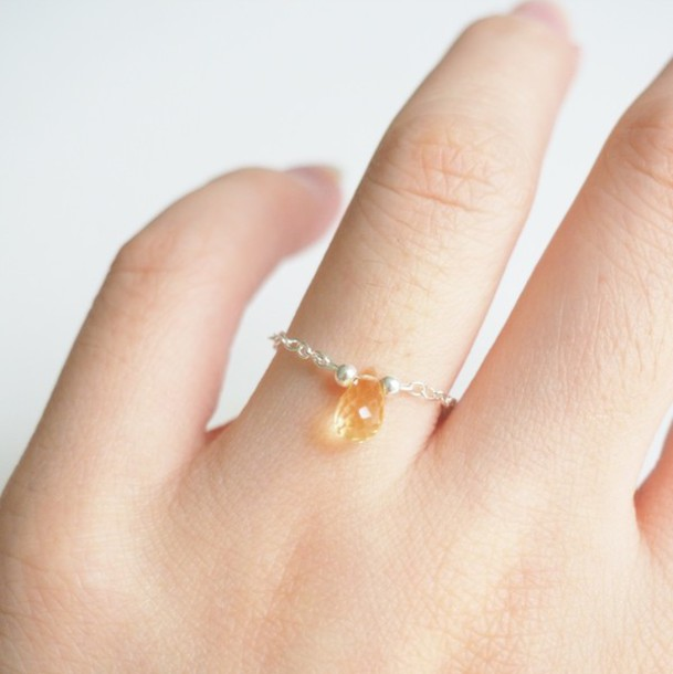jewels, summer summer handcraft, simple ring, cute ...