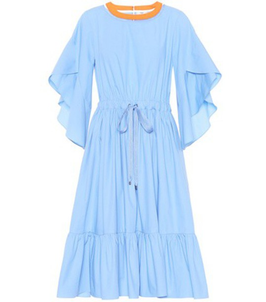 Fendi dress cotton blue