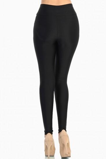 Omg shiny tricot high waist leggings