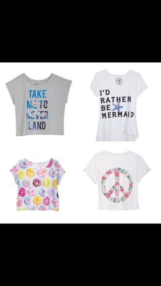 shirt mermaid ariel donut star wars