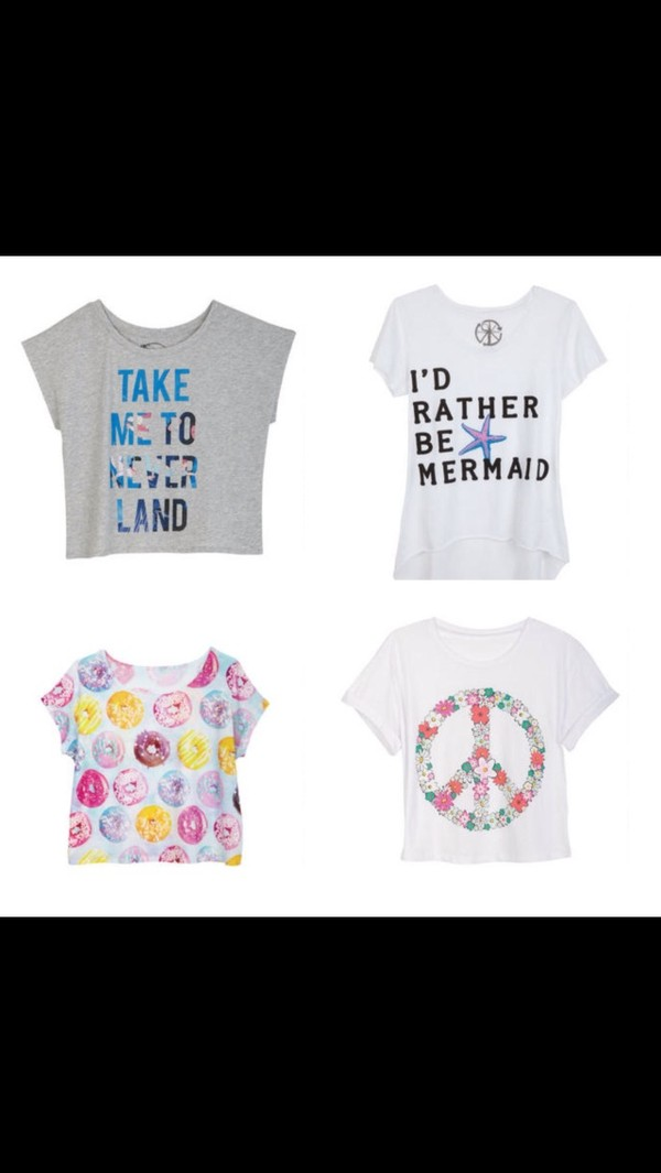 shirt mermaid the little mermaid donut