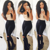 jeans,ripped,classy,black jeans,ripped jeans,aliexpress