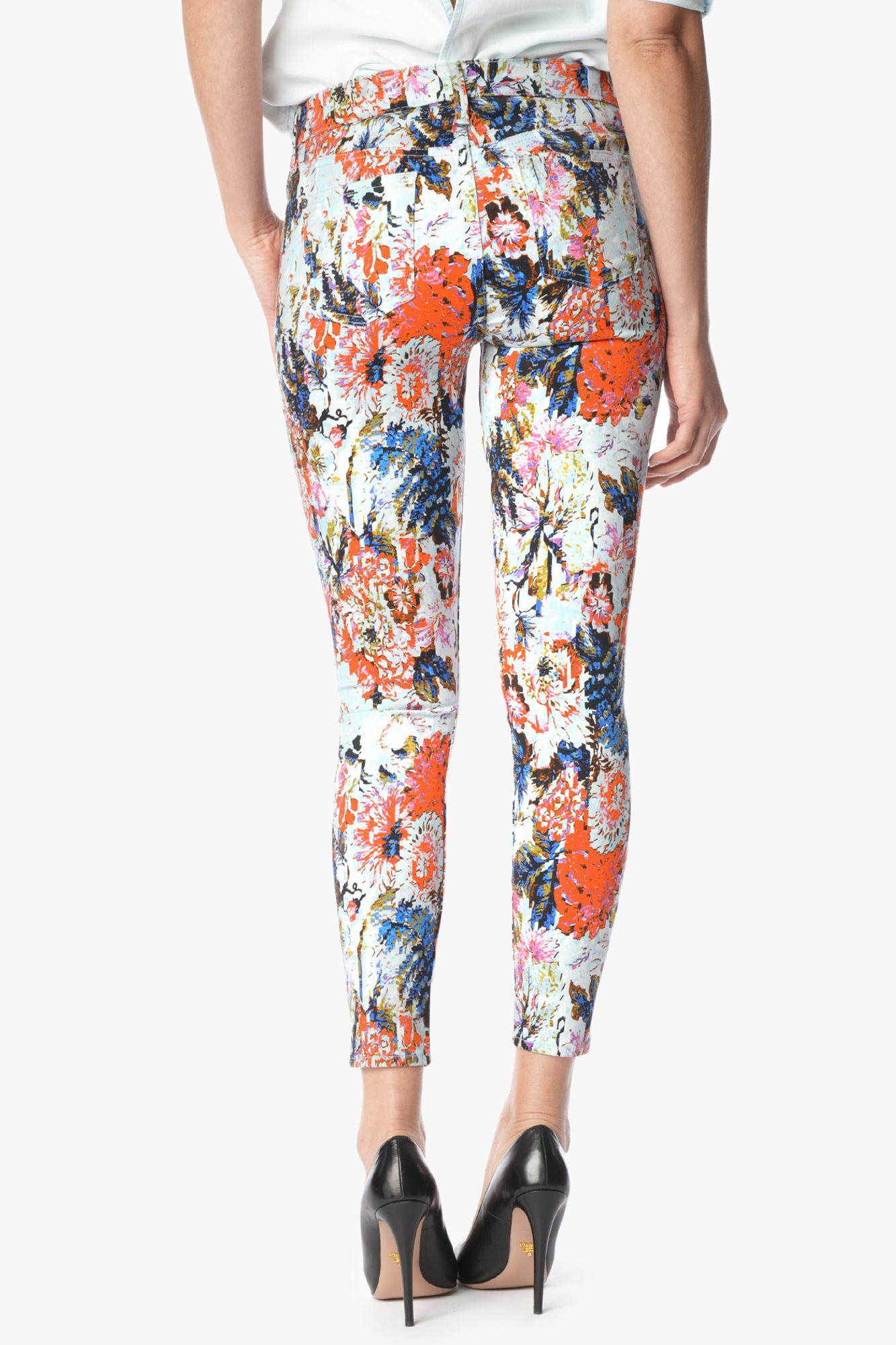Ankle Skinny In Floral Haze Print | 7 For All Mankind