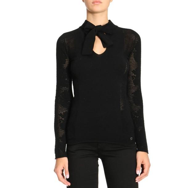 Twin-Set sweater women black