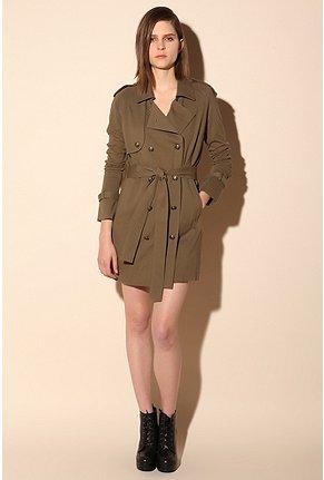 Imitation trench coat