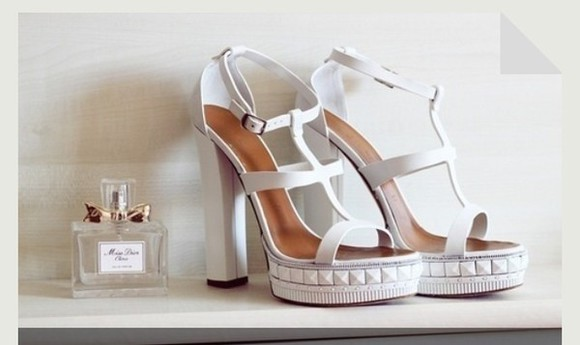 shoes high heels studs sandals