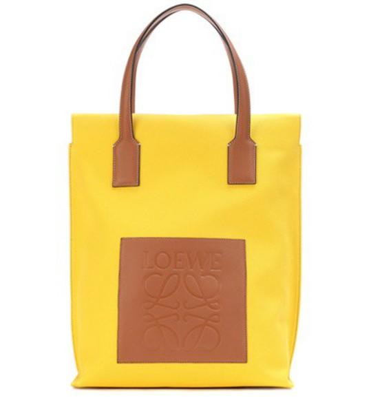 LOEWE yellow bag