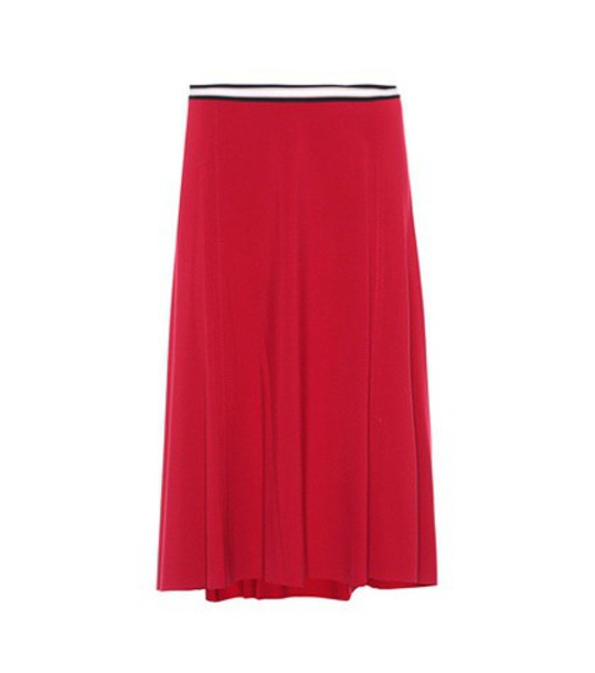 Dorothee Schumacher skirt chic red
