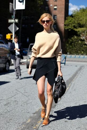 wrap black skirt skirt