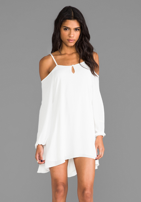 LOVERS   FRIENDS Irreplaceable Dress in White at Revolve Clothing - Free Shipping!