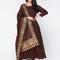 Ls-2413 - dark brown - suits - ladies wear - diya online