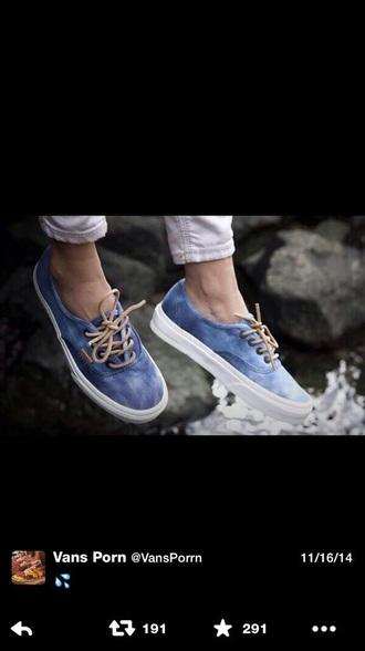 shoes vans sneakers acid wash