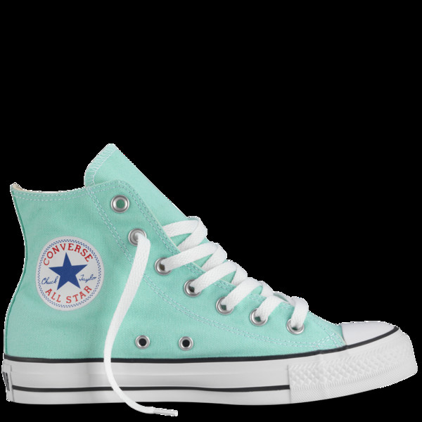 shoes pastel mint converse high top converse