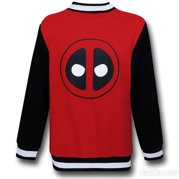 deadpool jacket swaeater marvel comics