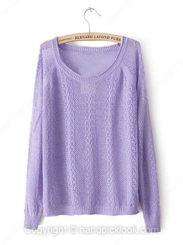swimwear sweater cable knit cable knit jumper purple purple sweater lavender pullover