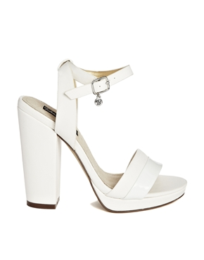 Blink | Blink Platform Ankle Strap Heeled Sandals at ASOS