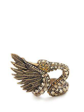 embellished ring gold jewels