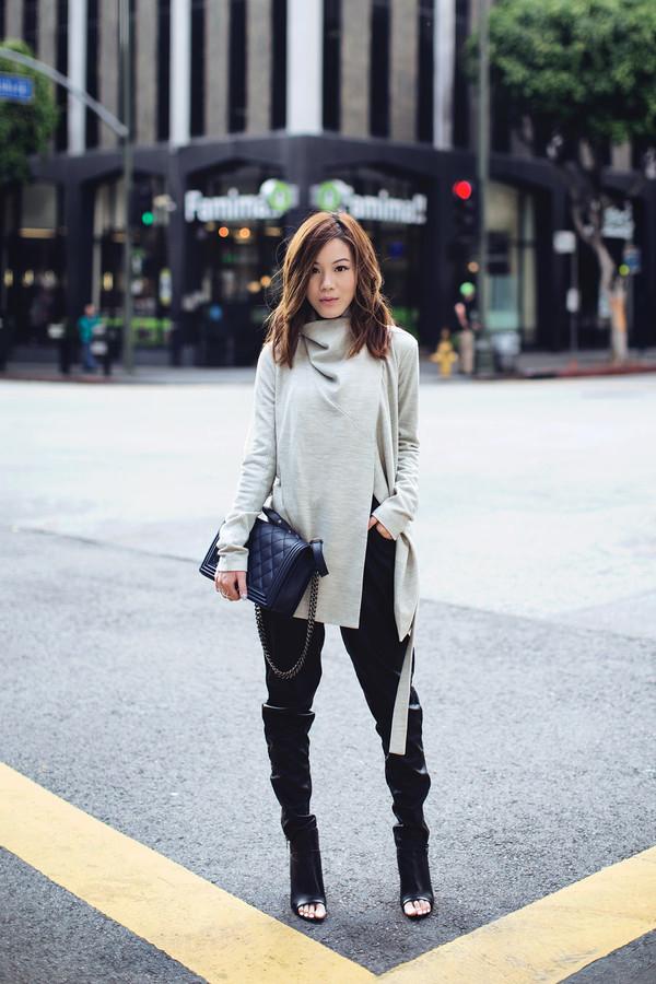 tsangtastic blogger shoes bag blouse