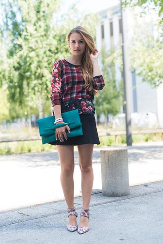 fashion gamble bag jewels t-shirt skirt shoes