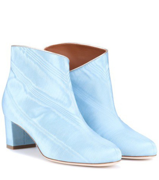 MALONE SOULIERS ankle boots blue shoes