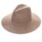 Camelot wool fedora hat in tan at flyjane