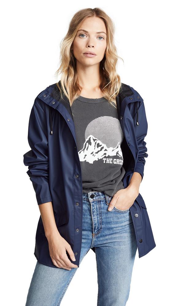 Rains Rain Jacket in blue