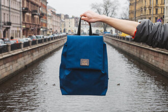 bag backpack blue trendy accessories accessory streetstyle streetwear fashion