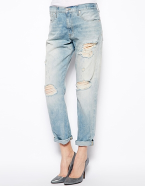 Denim & Supply by Ralph Lauren | Denim & Supply By Ralph Lauren – Boyfriend-Jeans mit Rissen bei ASOS