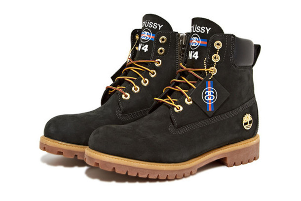 shoes stussy cool menswear boots timberland