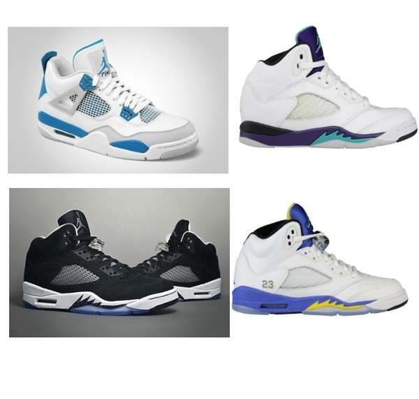 shoes air jordan jordans retro grape military blue oreos