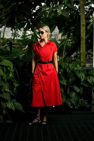 the fashion guitar blogger dress sunglasses belt shoes bag shirt skirt jewels