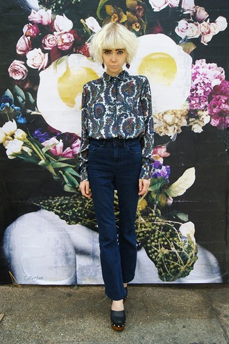 stella's wardrobe blogger shirt asos 70s style