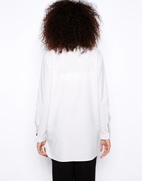 Monki | Monki Oversized Shirt at ASOS