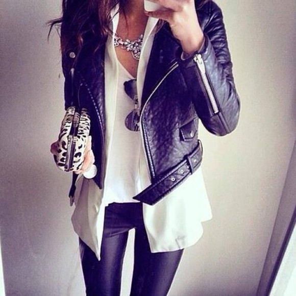 black jacket leather jacket leather black perfecto