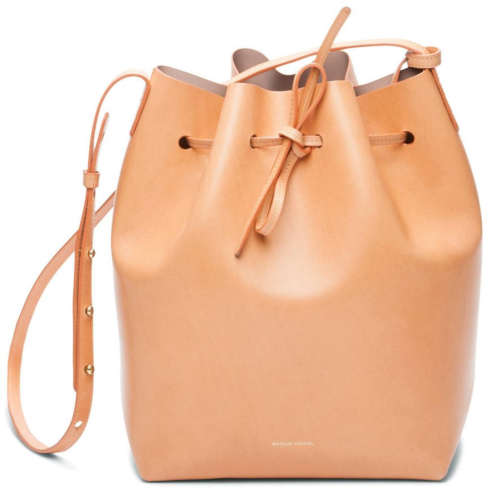 Mansur Gavriel Cammello Bucket Bag - Antico