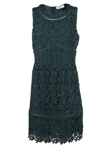 dress mini dress mini lace green