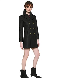 COATS - SAINT LAURENT -  LUISAVIAROMA.COM - WOMEN'S CLOTHING - FALL WINTER 2014