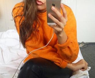 blouse orange orange blouse