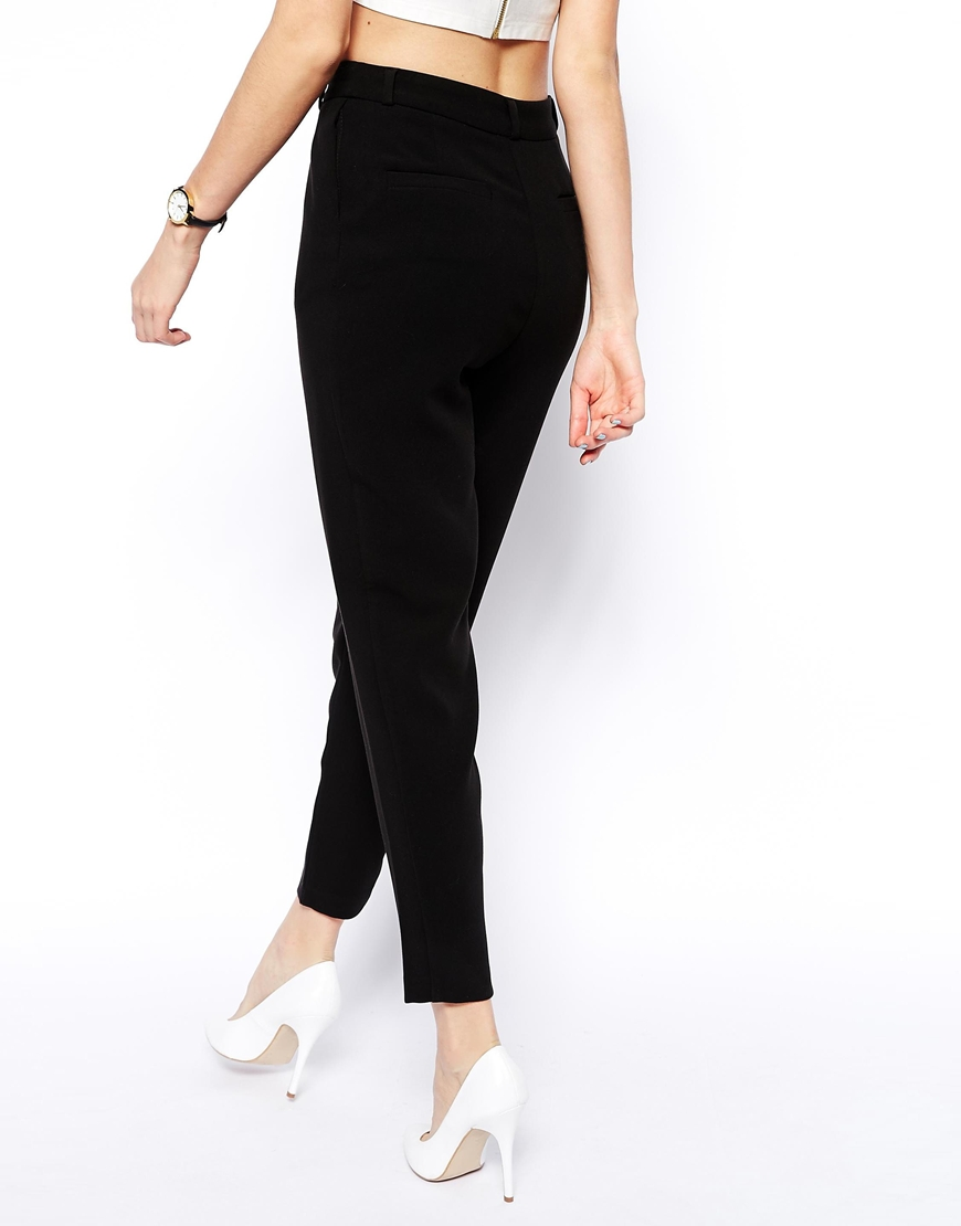 ASOS Ankle Grazer Trousers at asos.com