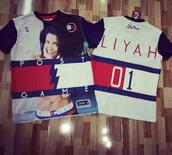 aliyah,tommy hilfiger,t-shirt,red white and blue,shirt,aaliyah shirt,tommy hilfiger shirt,aaliyah tommy hilfiger  top,aaliyah,dope,throwback,trendy