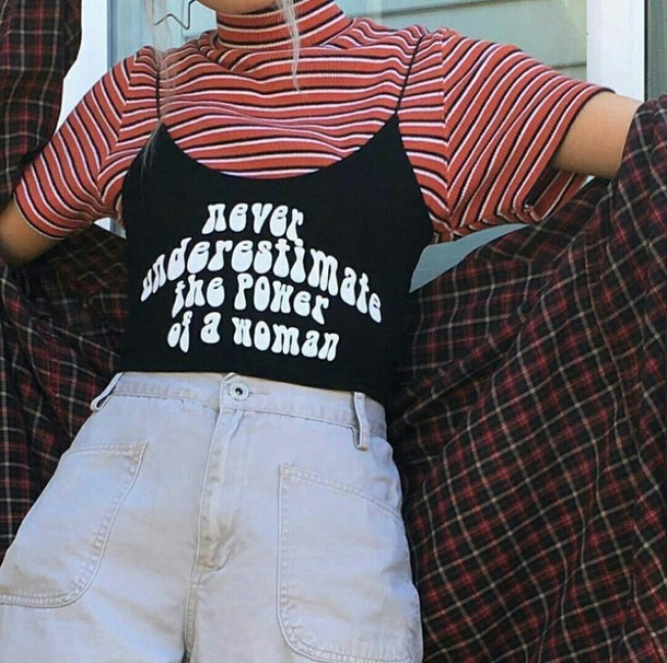 Tank Top, Streetstyle, Aesthetic, Tumblr, Women