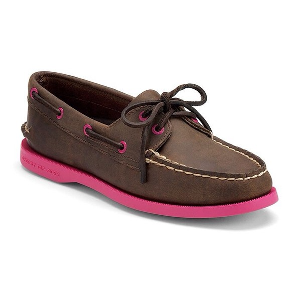 shoes pink and brown walk with confidence