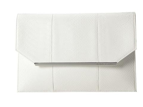 BCBGMAXAZRIA Envelope Clutch White - Zappos.com Free Shipping BOTH Ways
