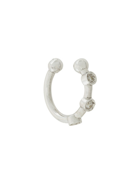 Lil Jewelry women grey metallic jewels