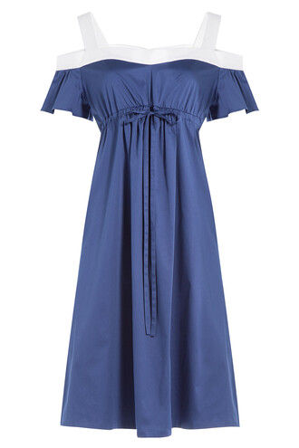dress colorblock dress colorblock blue