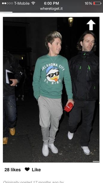 shirt niall horan sweater