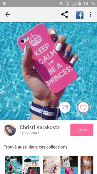 phone cover rose pink princess coque iphone