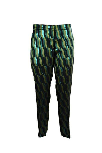 dries van noten pants green