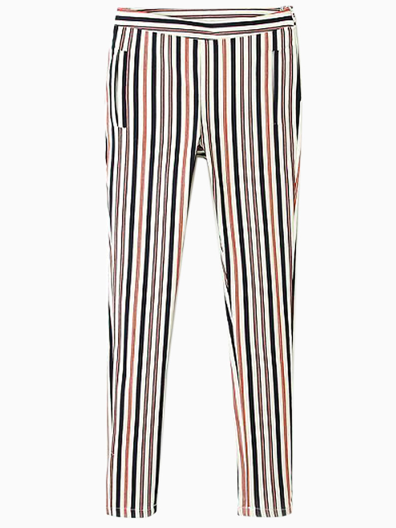 Red and Blue Stripes Harem Pants - Choies.com