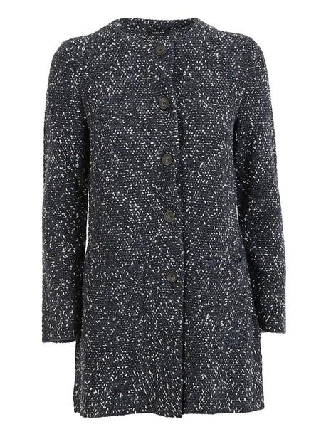 Anneclaire coat classic blue